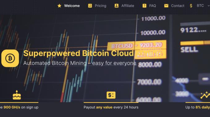 Majestyhash : Superpowered Bitcoin Cloud Mining